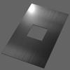Штамп пробивной квадрат