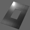Штамп пробивной прямоугольный