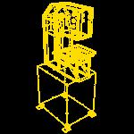 3D каркас СДП